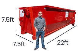 40 yard dumpster rentals service for larger construction projects